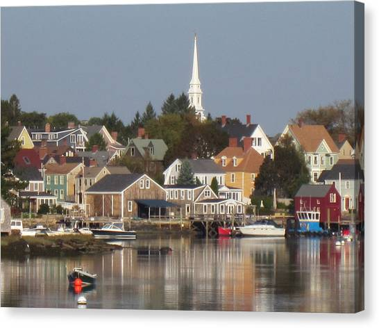 New Castle Harbor Nh Canvas Print
