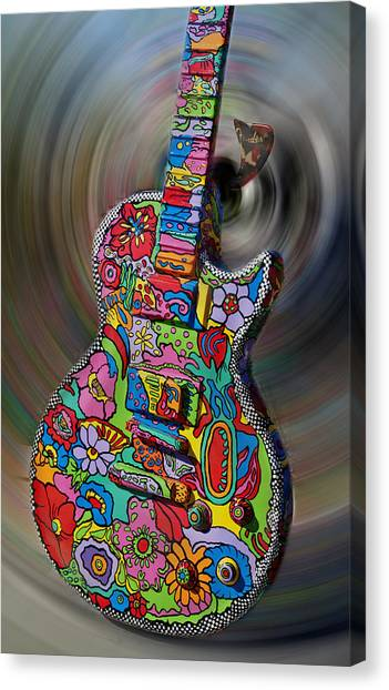Rock N Roll Collection Canvas Print