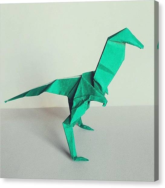 Big Red Canvas Print - 102/365 - Velociraptor - Designed By S by Ross Symons