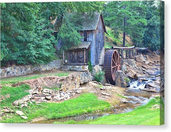 Sixes Mill On Dukes Creek Canvas Print