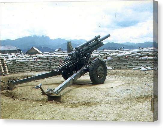 105mm Howitzer Canvas Print