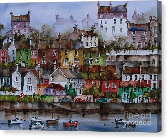 107 Windows Of Kinsale Co Cork Canvas Print