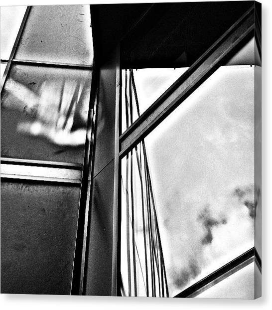 Geometry Canvas Print - Windows 2 by Jason Michael Roust
