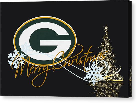 Green Bay Packers Canvas Print - Green Bay Packers by Joe Hamilton