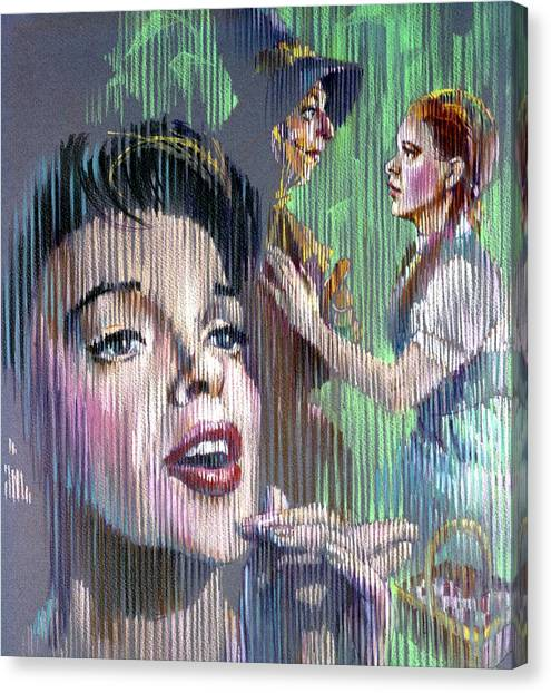 Judy Garland Canvas Print - Judy Garland by Retro Images Archive
