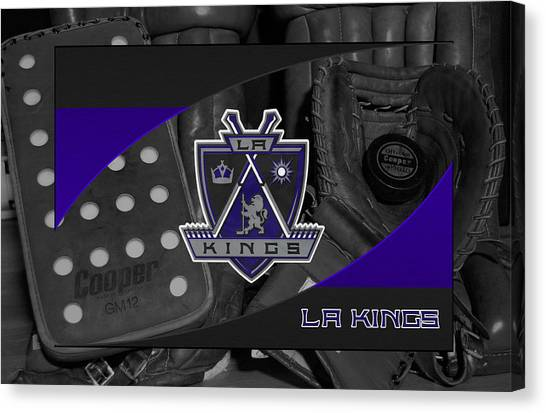 Los Angeles Kings Canvas Print - Los Angeles Kings by Joe Hamilton