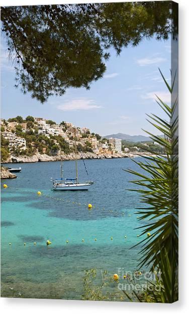 Majorca Canvas Print by Design Windmill