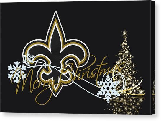 New Orleans Saints Canvas Print - New Orleans Saints by Joe Hamilton