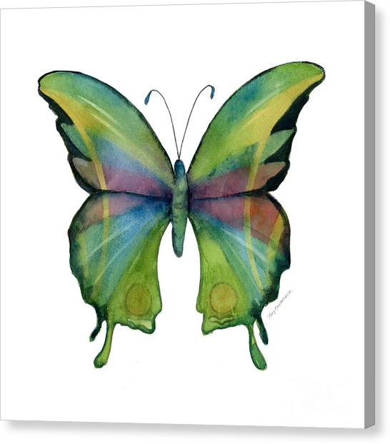 11 Prism Butterfly Canvas Print