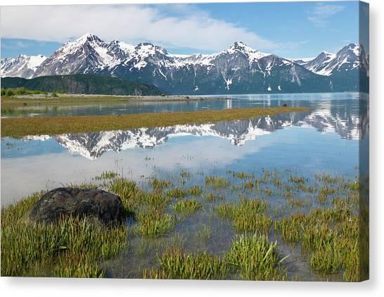 Glacier Bay Canvas Print - Usa, Alaska, Glacier Bay National Park by Jaynes Gallery