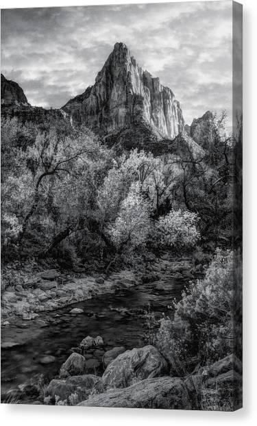Zion National Park Canvas Print by Utah Images