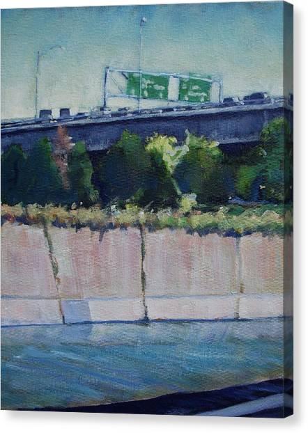 110 Freeway South Canvas Print
