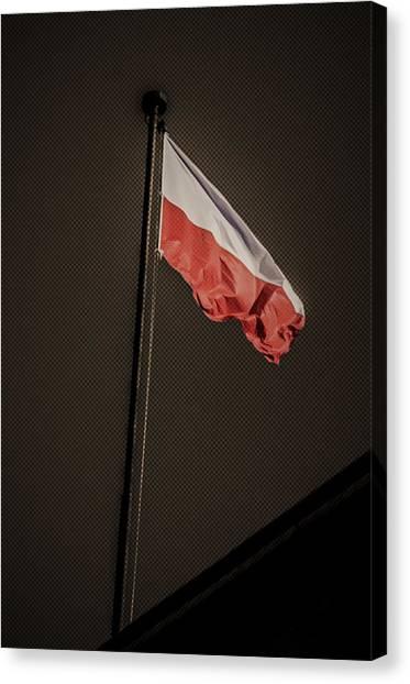 11.11 National Polish Independence Day Canvas Print by Adam Budziarek