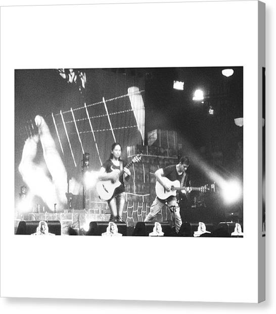 Flamenco Canvas Print - 11:11 #rodrigoygabriela #flamencoguitar by Laura  Warrington