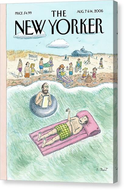Psychology Canvas Print - New Yorker August 7th, 2006 by Roz Chast
