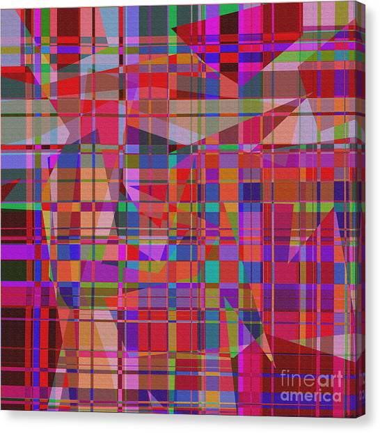 1131 Abstract Thought Canvas Print