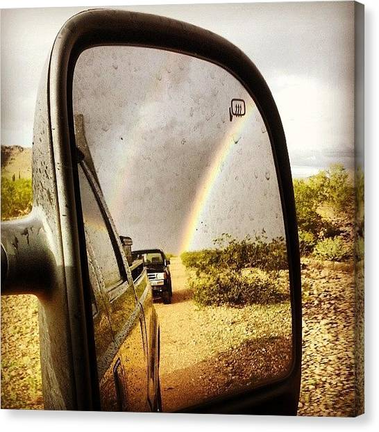 Dirt Road Canvas Print - Instagram Photo by Franchesca Kister