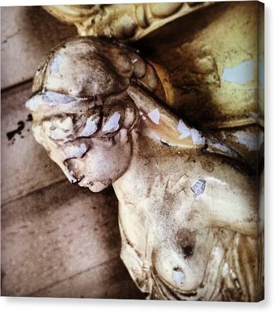 Greek Art Canvas Print - She's A Goddess  by Rosie Lackey