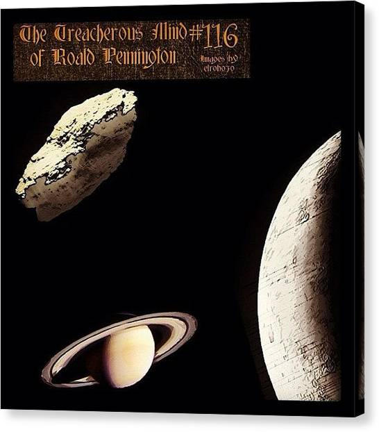 "Jupiter Canvas Print - 116 - ""there's Always New Planets by Roald Pennington"