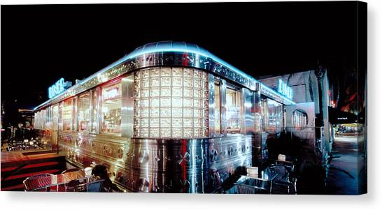 11th Street Diner Canvas Print