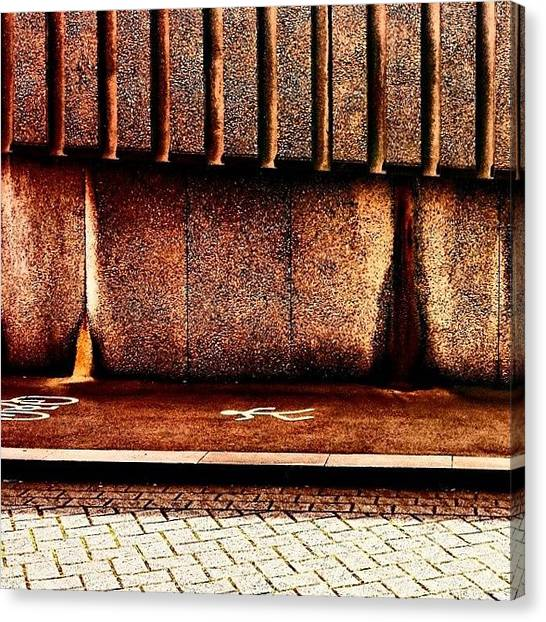Geometric Canvas Print - Urban Wall B by Jason Michael Roust