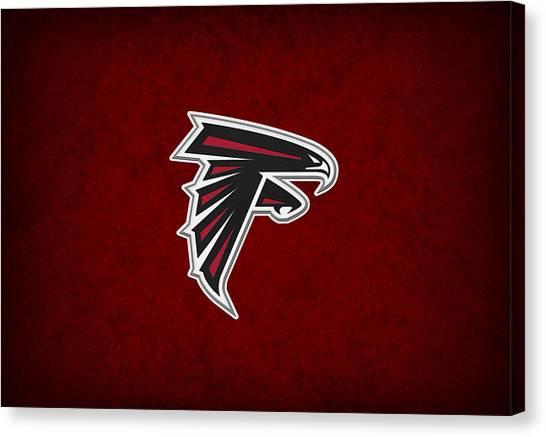 Atlanta Falcons Canvas Print - Atlanta Falcons by Joe Hamilton