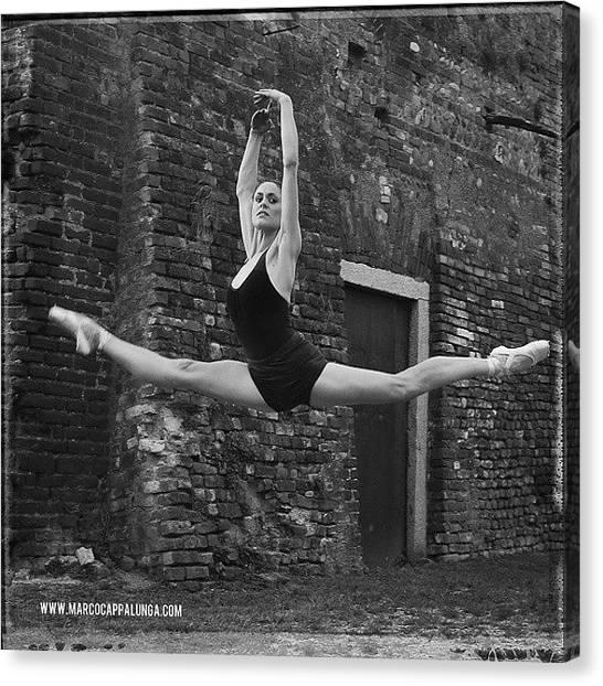 Ballerinas Canvas Print - #ballet #balletto #ballerina by Marco Cappalunga