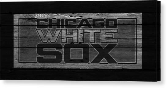 Chicago White Sox Canvas Print - Chicago White Sox by Joe Hamilton