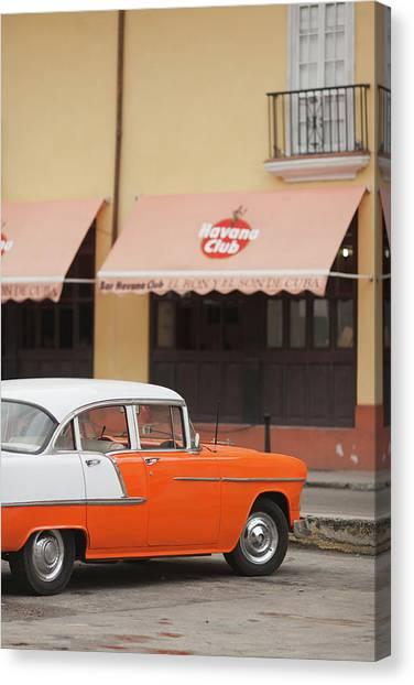 Cuba Canvas Print - Cuba, Havana, Havana Vieja, Morning by Walter Bibikow
