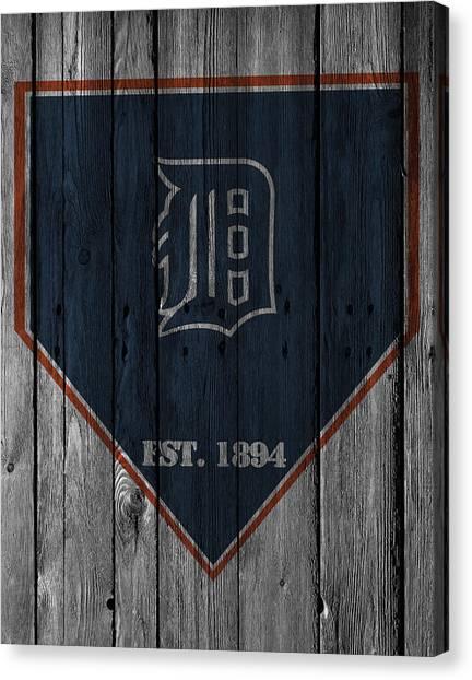 Detroit Tigers Canvas Print - Detroit Tigers by Joe Hamilton