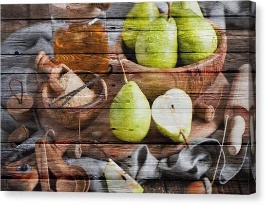 Mango Tree Canvas Print - Fruit by Joe Hamilton