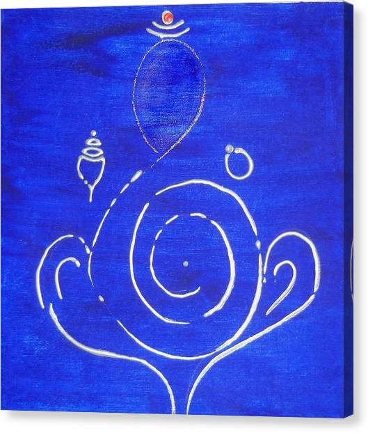 16 Ganesh Canvas Print