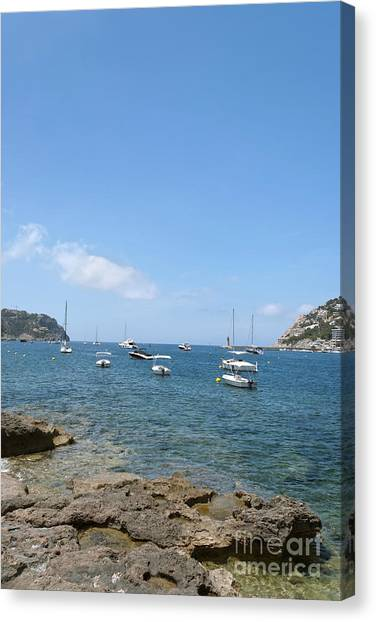 Majorca Canvas Print by Design Windmill