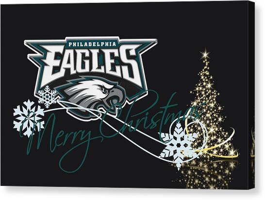 Touchdown Canvas Print - Philadelphia Eagles by Joe Hamilton