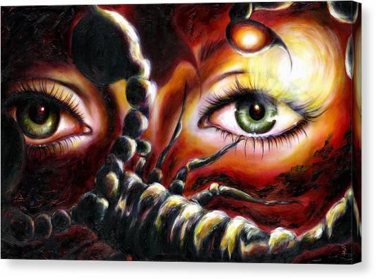 12 Signs Series Scorpio Canvas Print