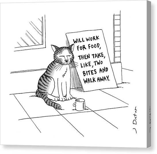 New Yorker September 22nd, 2008 Canvas Print