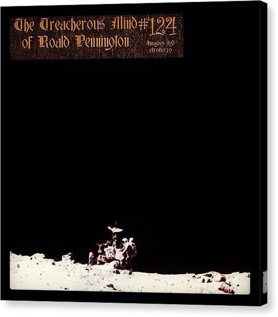 "Astronauts Canvas Print - 124 - ""oh My God, Am I Here All by Roald Pennington"
