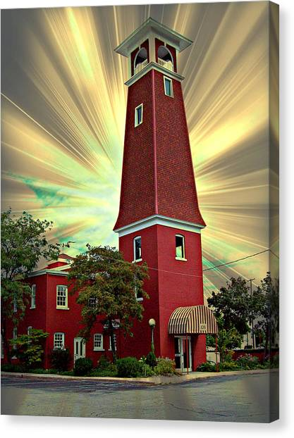 126 Hiding The Sun Canvas Print