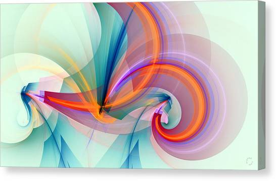 Fractal Canvas Print - 1260 by Lar Matre