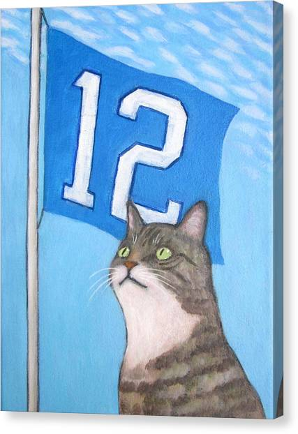12th Cat #1 Canvas Print