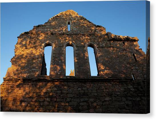 Early Christian Art Canvas Print - 12th Century, Cistercian Jerpoint Abbey by Panoramic Images