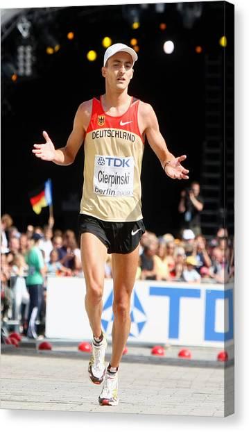 12th Iaaf World Athletics Championships - Day Eight Canvas Print by Alexander Hassenstein