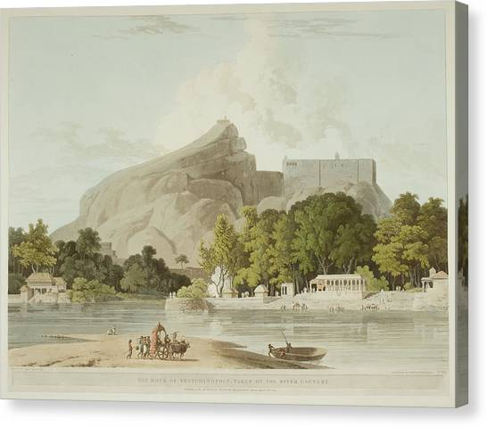 Ganges Canvas Print - Antiquities Of India by British Library