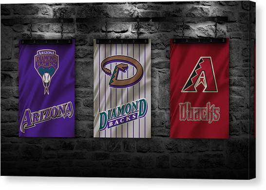 Arizona Diamondbacks Canvas Print - Arizona Diamondbacks by Joe Hamilton