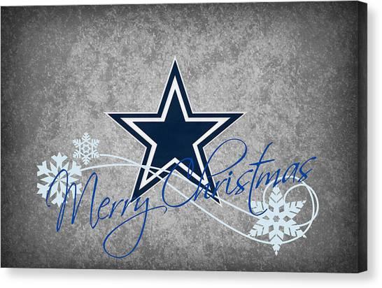 Dallas Cowboys Canvas Print - Dallas Cowboys by Joe Hamilton