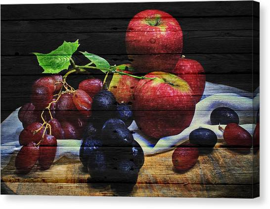 Mangos Canvas Print - Fruit by Joe Hamilton