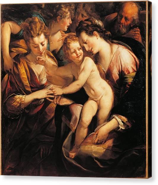 Procaccini Canvas Print - Italy, Lombardy, Milan, Brera Art by Everett