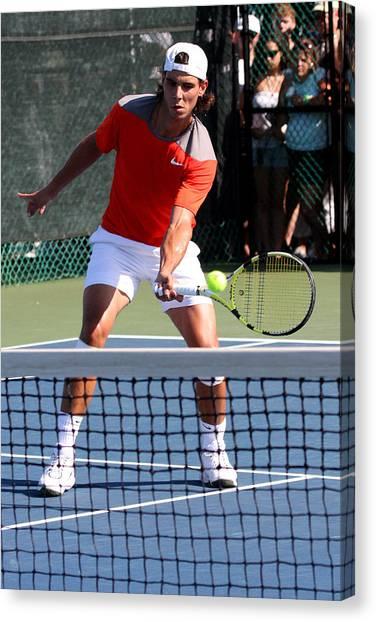 Rafael Nadal Canvas Print - Rafael Nadal by James Marvin Phelps