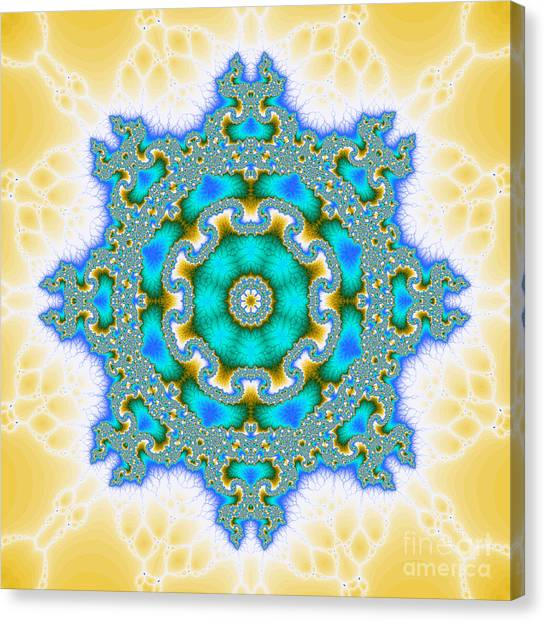 The Kaleidoscope Canvas Print by Odon Czintos