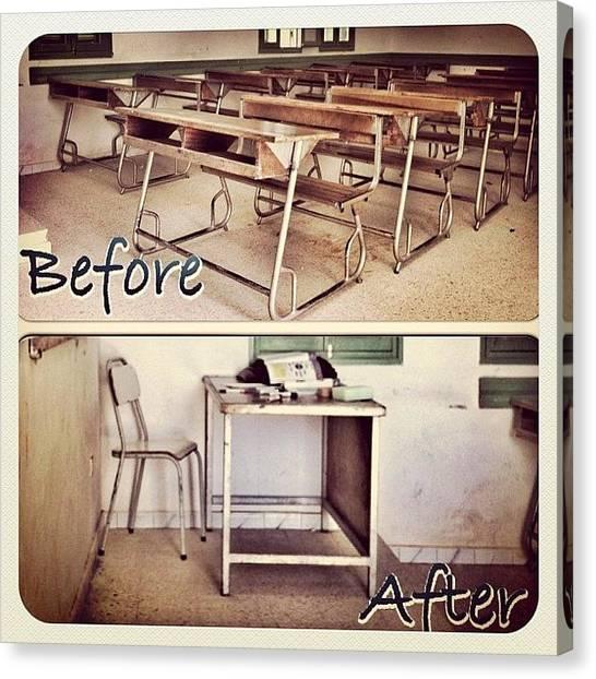 Teachers Canvas Print - Instagram Photo by Styledeouf ®